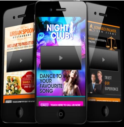 Single or Multi-page Mobile Designs